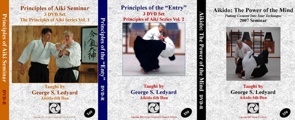 George Ledyard Sensei full series on the Principles of Aiki