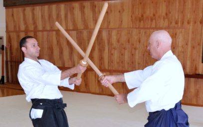 William Gleason Sensei Aikido Sword