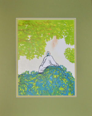 Chinese Scholar Limited Edition Reduction Print